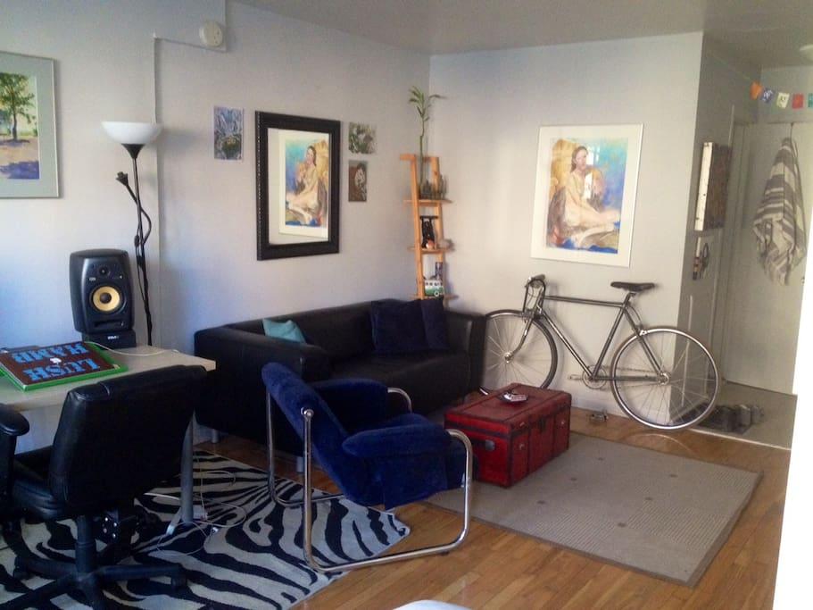 Living room area !