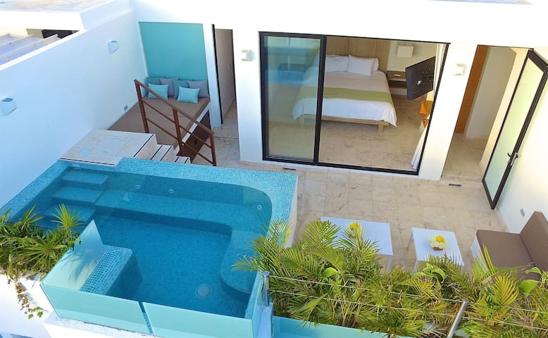 Penthouse Downtown, Private Pool & Daybed