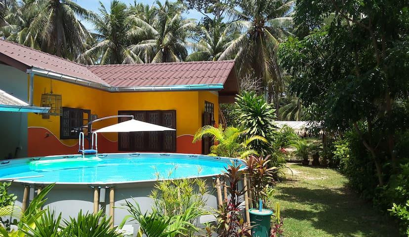 La villa Misyl close to the beach