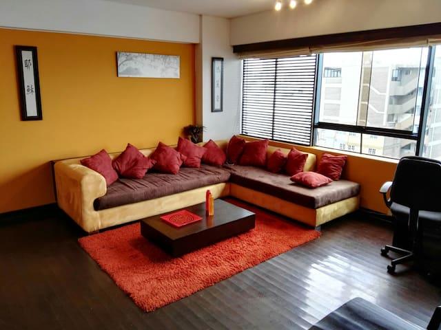 Apartamento 1 dormitorio, de lujo - Miraflores - Departamento