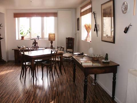 Chambre, maison espace et lumière
