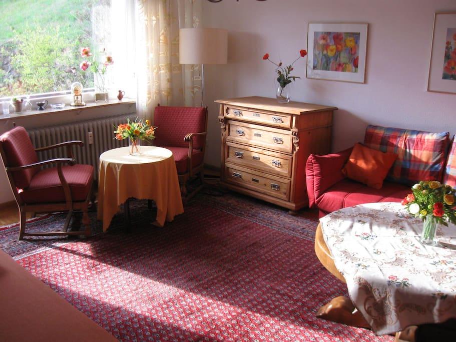 Sonniges Plätzchen im Wohnzimmer