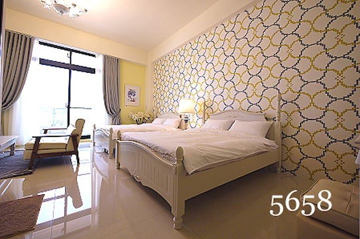 巴洛克4人房 Baroque Room for 4  - Qianzhen District - Villa