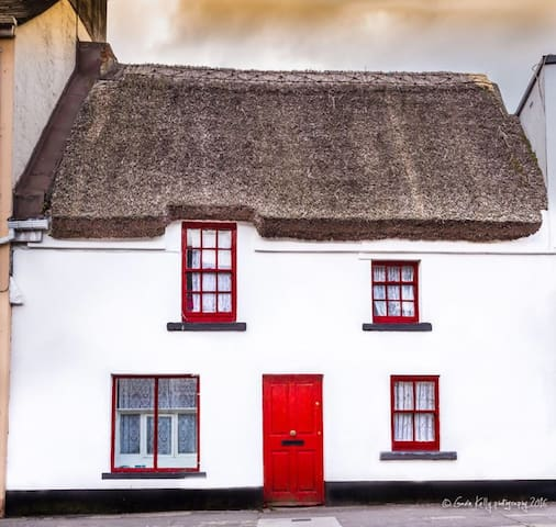 CITY CENTRE THATCHED COTTAGE. - Galway - House