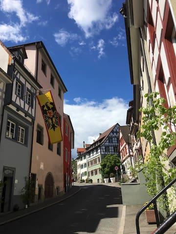 Ferienwohnung- IM BLAUEN HÄUSLE -Überlingen (1.OG)