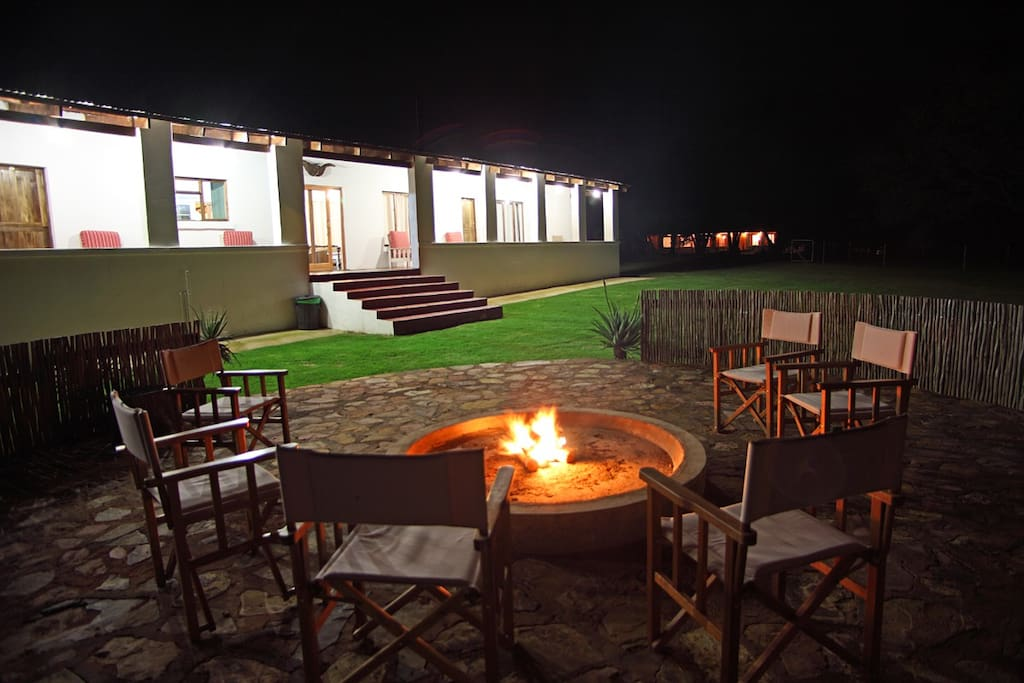 The Boarding House Braai Area