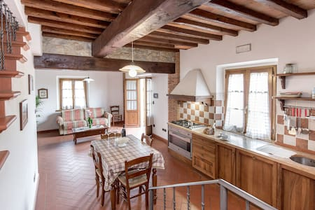 Apartment Villa Chianti Pool WiFi Air Cond. (G) - Bucine