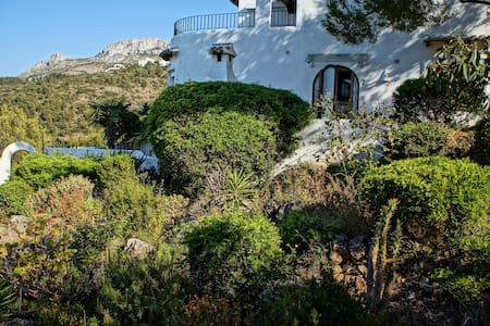 Bungalow with seaview and moutain. - Dénia