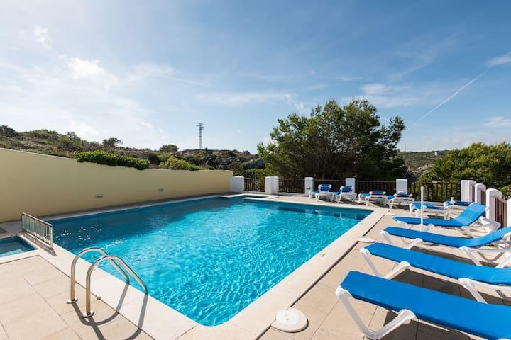 Apartamento 2 dorm vista mar - Cala Morell - Ciutadella - Apartamento