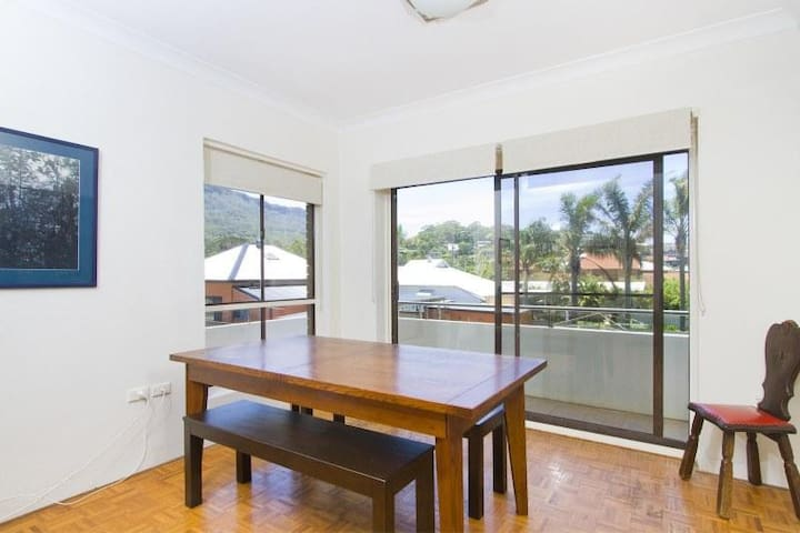 Beachfront Apartment with Sea Views - Thirroul - Departamento