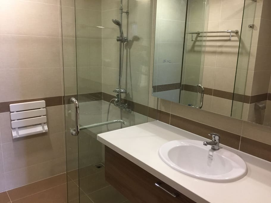 Brand new rest room