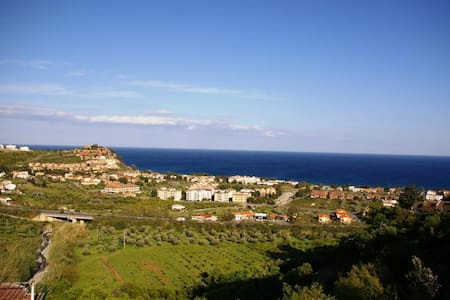 Apartment with view Ionian coast - Costaraba - Lejlighed