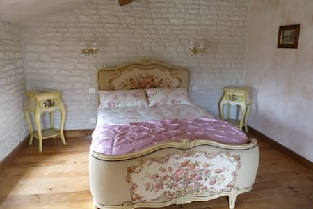 The Blacksmiths Cottage a romantic country retreat - Romazieres - Huis