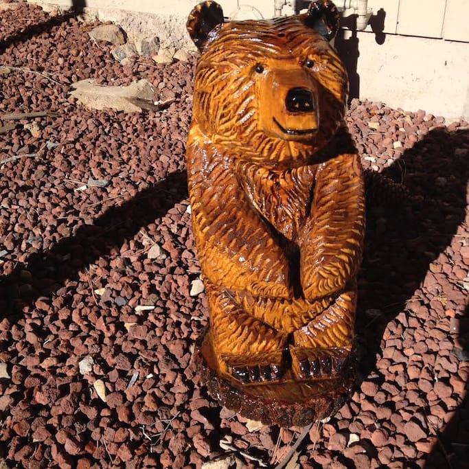 Tahoe Welcome Bear
