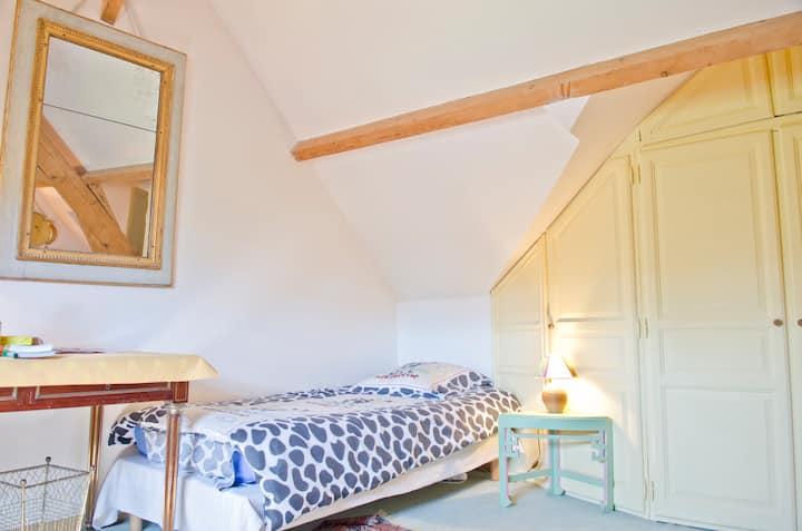 La chambre romantique à La Tonnelle