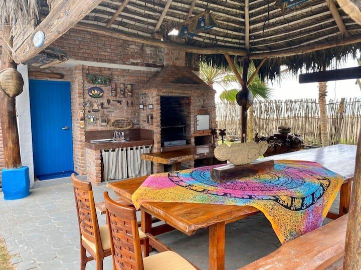 Habitación matrimonial en la estancia San Fernando