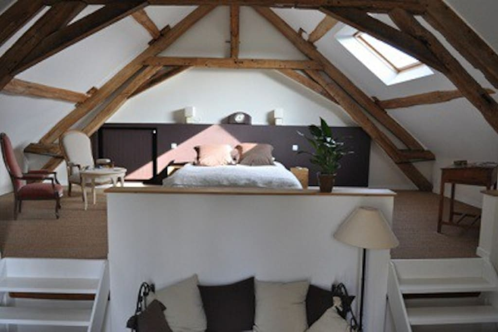 La Chambre Rochambeau, large et confortable pour 2 personnes