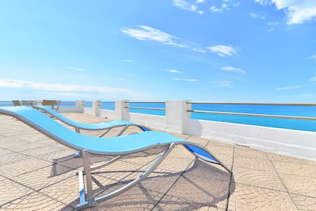 Apartment with terrace on the sea - Santo Stefano Al Mare