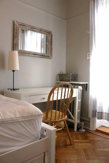 Your bedroom's desk