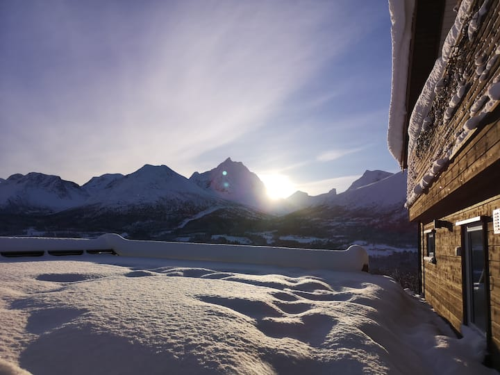 Romsdalseggen Lodge -Apartment with beautiful view