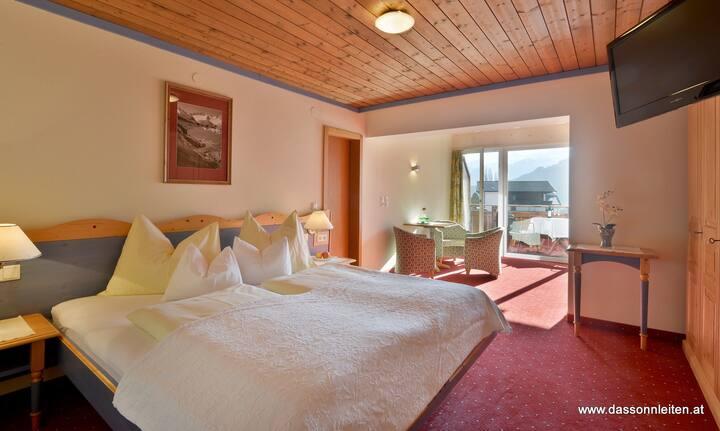 """Panoramazimmer """"Spieljoch"""", Hotel Sonnleiten"""