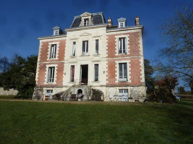 Belle demeure du Val de Loir - Chenu - Casa