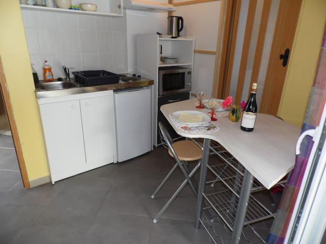 Studio rez de jardin proche centre ville - Valence - Apartment