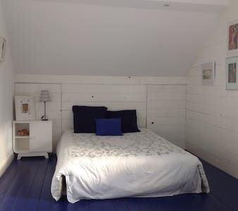 2 Chambres 3/4 ou 5pers. petit dej. - Châtellerault - Bed & Breakfast