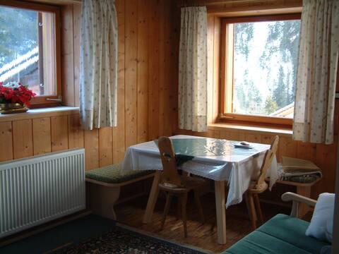 Gemütliche Wohnung in den Alpen