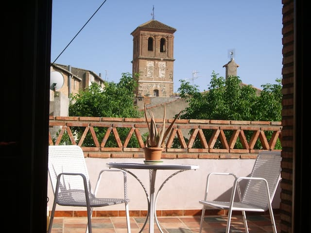B&B, Cozy, Quiet, Amazing view - Nigüelas - Bed & Breakfast