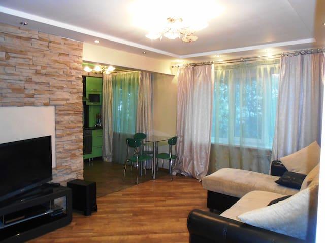 2-комнатная квартира с евроремонтом - Arkhangel'sk - Apartment
