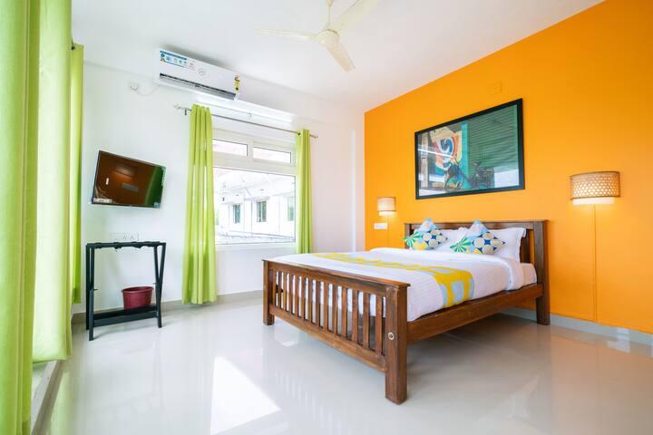 OYO - Cosy 1BR Home in Eloor, Kochi