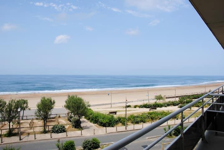 Hossegor Front de mer, appartement T2 avec vue exceptionnelle
