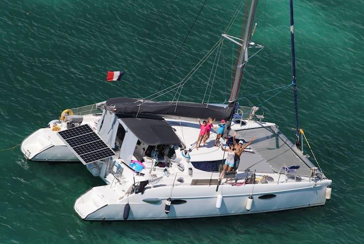 Enjoy a nice trip on our catamaran - Bocas - Boot