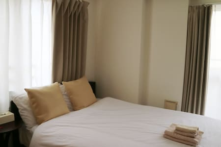 【Long stay possible!】 ☆ Deluxe Double Bed Room