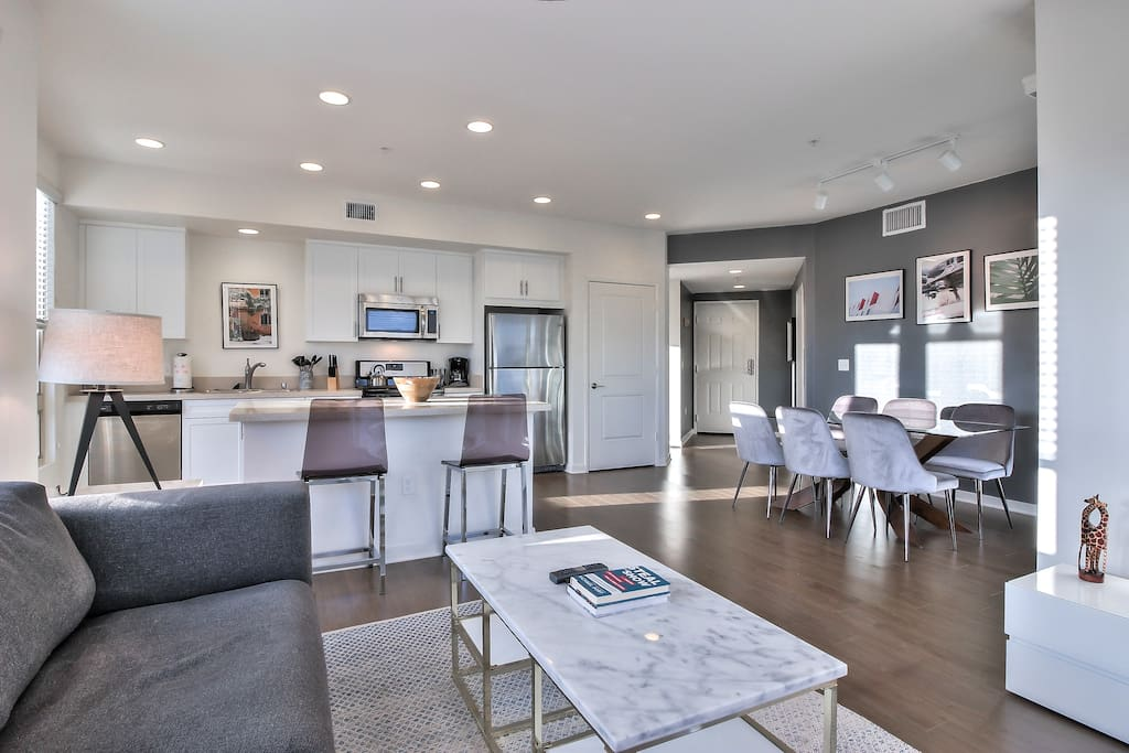 Ample Living Area to Call Home + Fully Equipped Kitchen