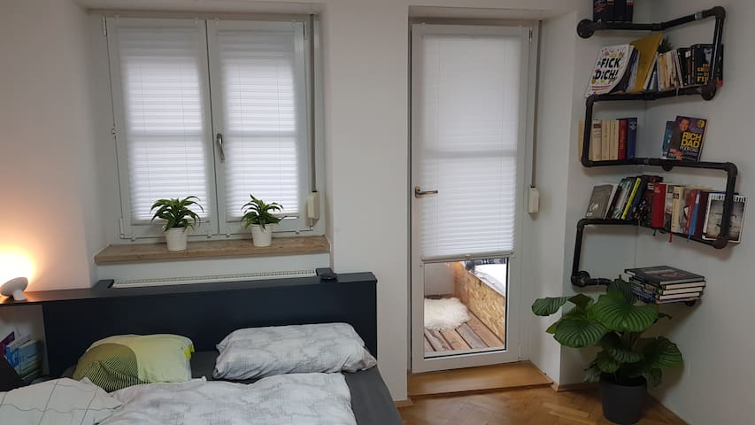 Cozy apartment for 2+ people with wintergarden