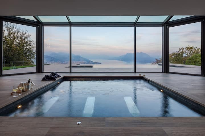 Villa Petra, luxury in Stresa. Stunning view