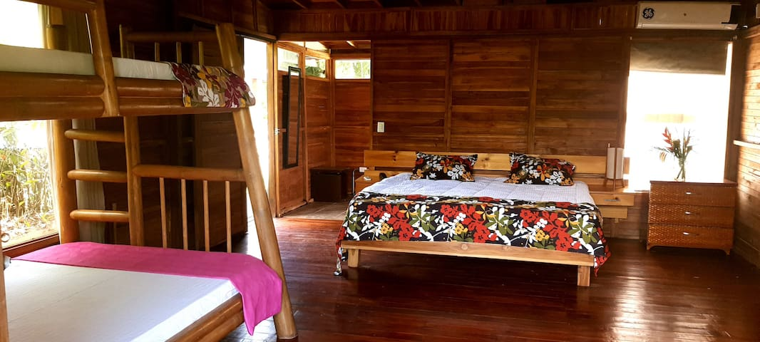 Cerca a Quimbaya hermosa cabaña
