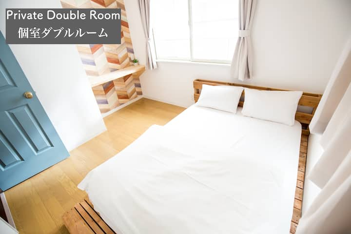 Double Room IZA Enoshima Guest House & Bar