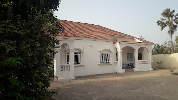 Bungalow close to the beach in a peaceful area