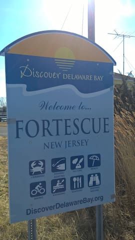 Welcome Sign into Fortescue