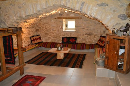 Cellar of Traditional stone house - Agridi - Appartement