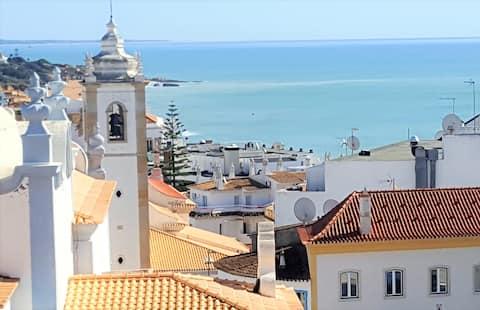 Increíble vista al mar ESPACIO abierto Albufeira Old Town