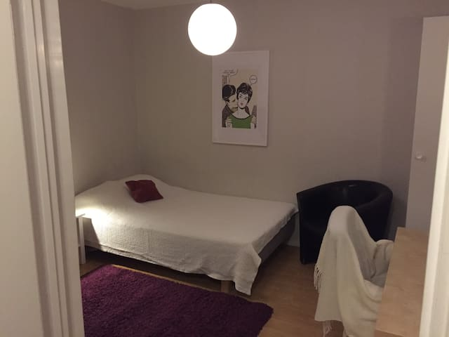 Room with 2 beds in the heart of Uppsala
