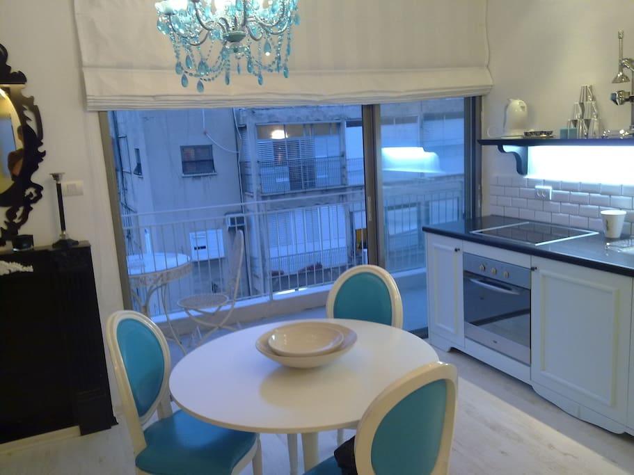 Balcony & Dining