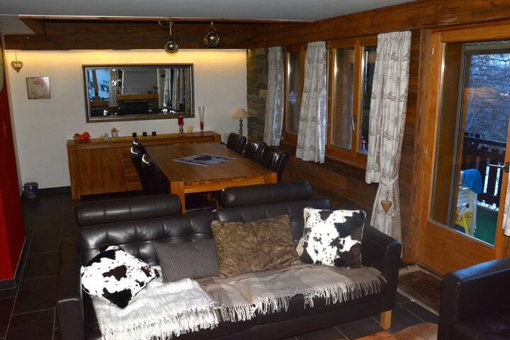 Bel appartement style chalet - Nendaz - Apartment