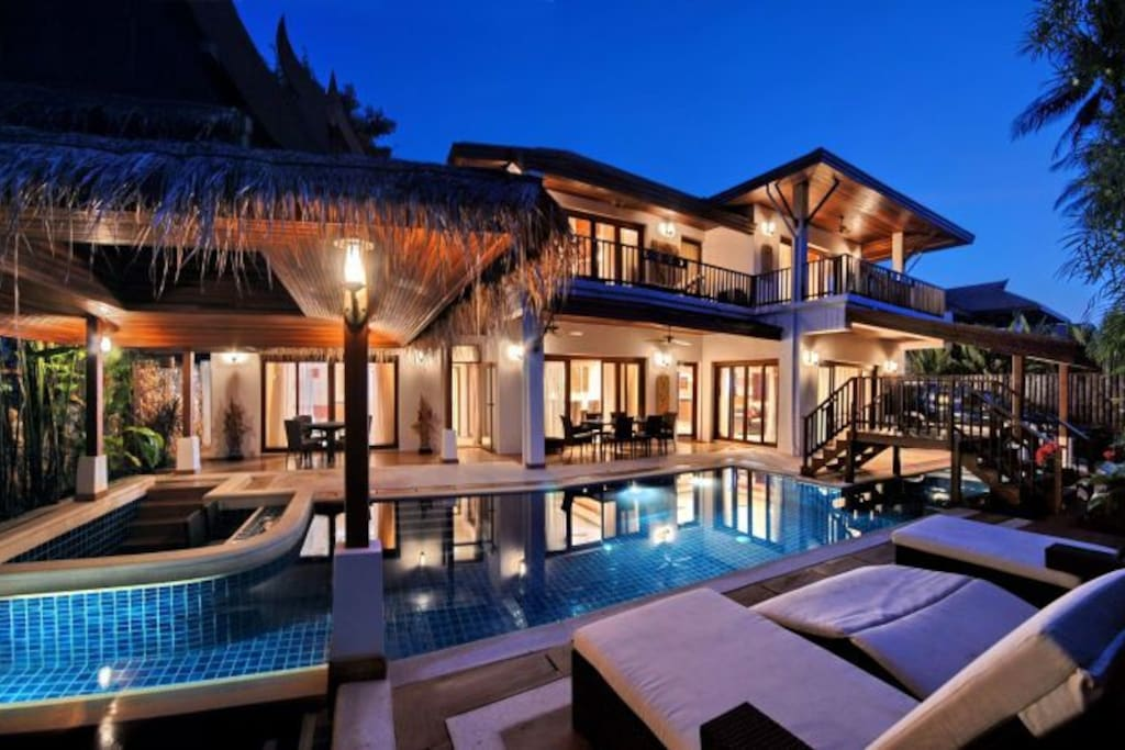 Baan oasis 112116 villas for rent in koh samui surat for Luxury retreats koh samui