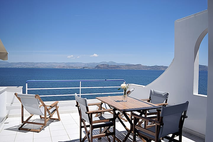 Holiday Beach Studio Apartment, Nafplion, Kiveri