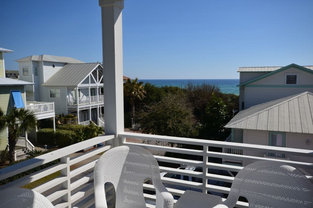 Calypso Cottage: 3rd Floor Balcony